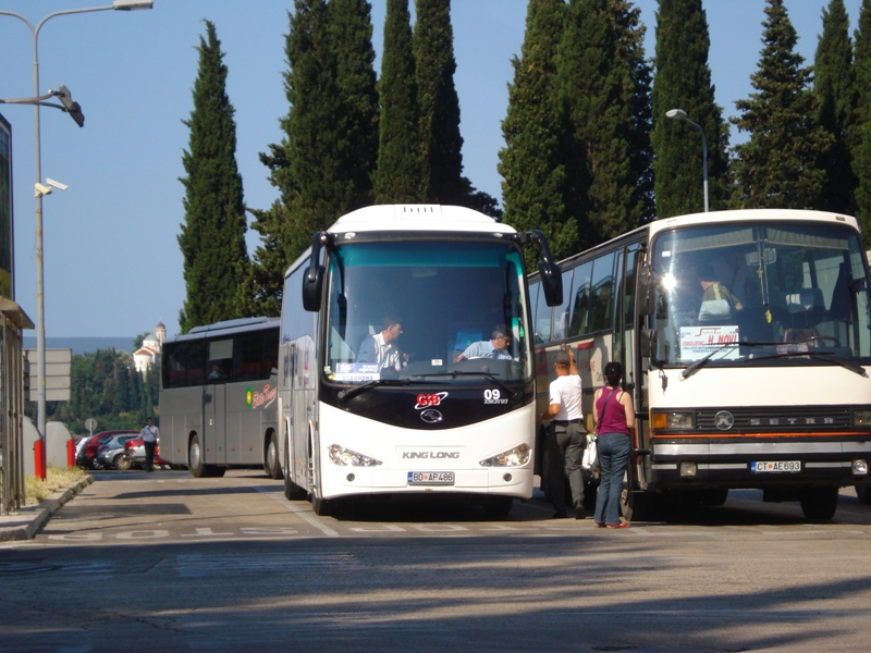 Bus transport in Montenegro