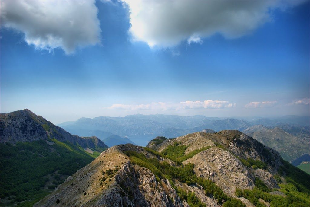 Lovcen and the surrounding peaks