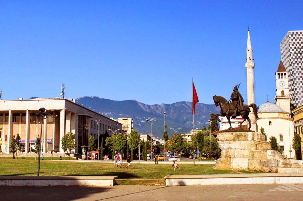 Scanderbeg Square - Tirana, Albania