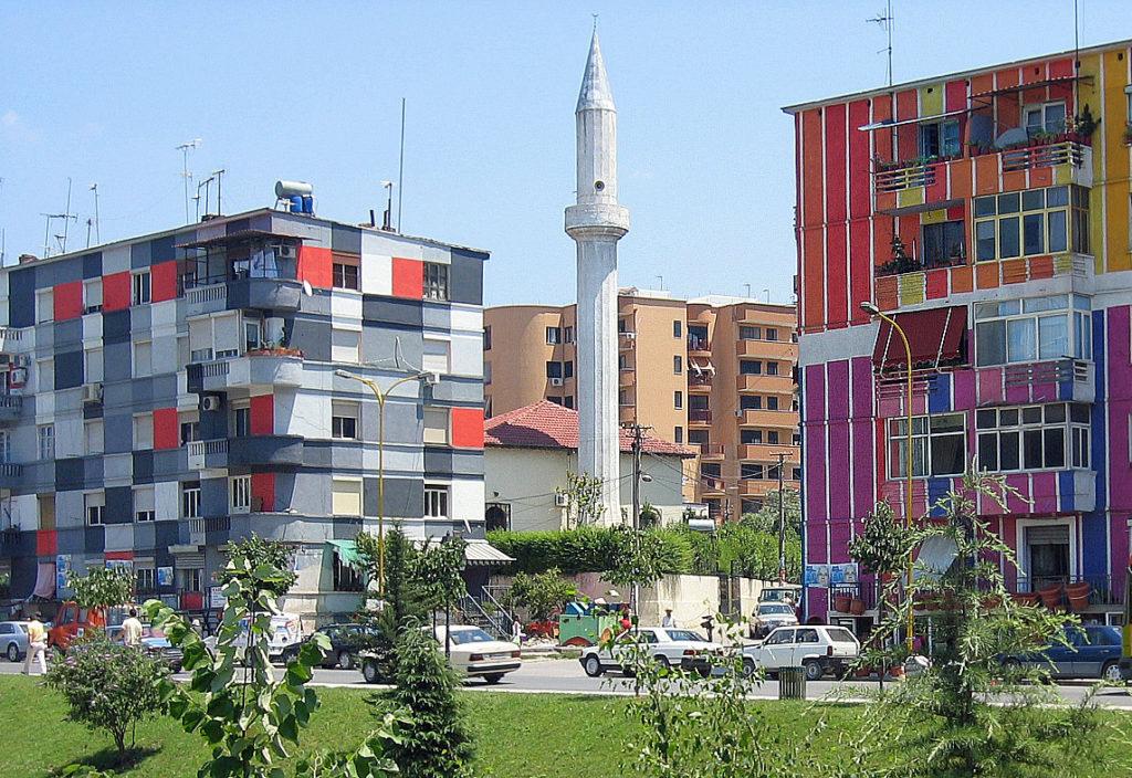 Tirana - vivid colors of the rainbow