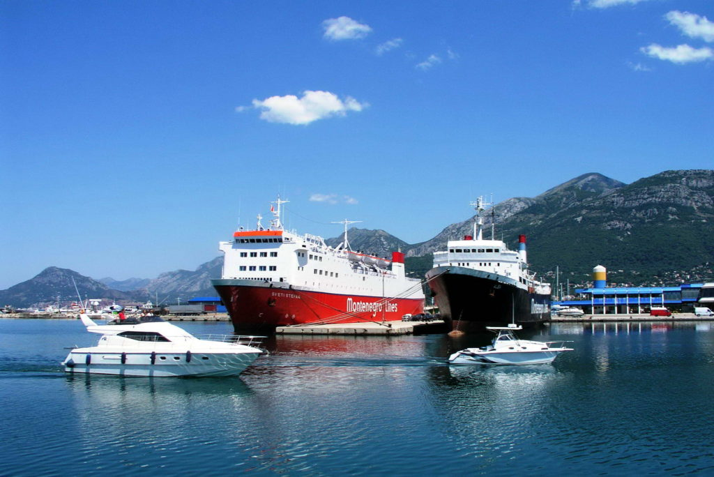 Bar - Main port in Montenegro