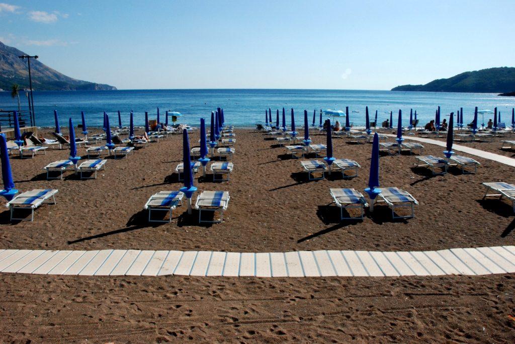 Becici Beach