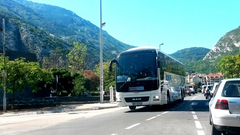 Bus company in Montenegro