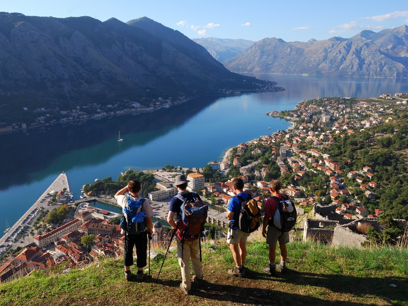 excursion bay of kotor
