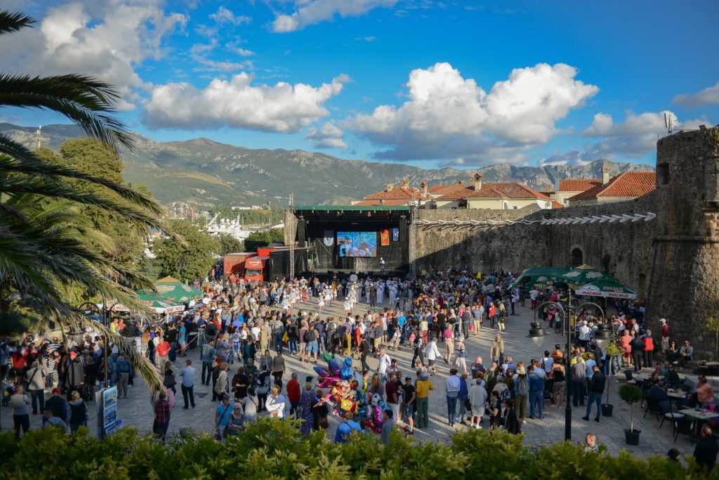 Fish festival in Budva
