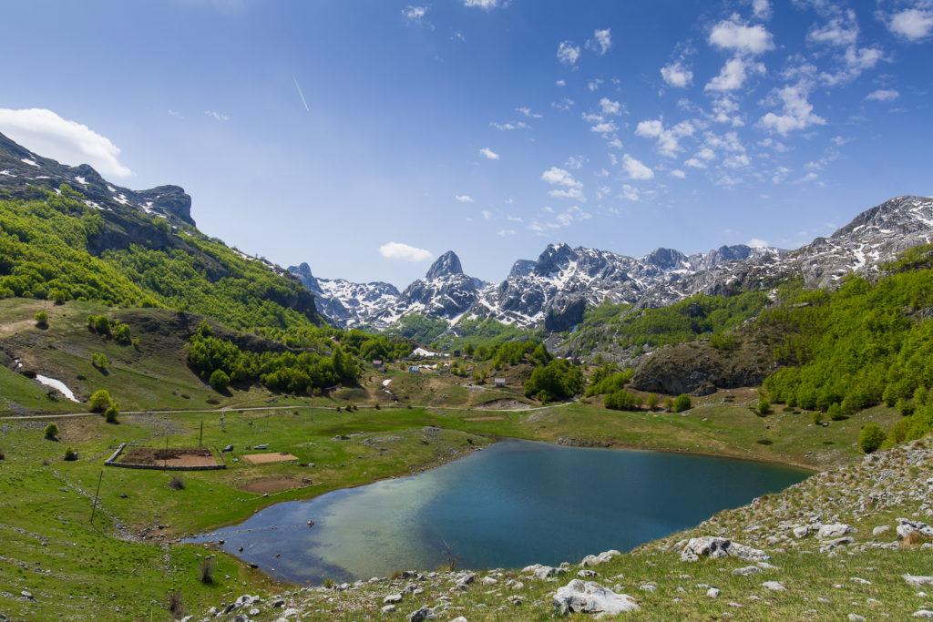 bukumirsko lake montenegro