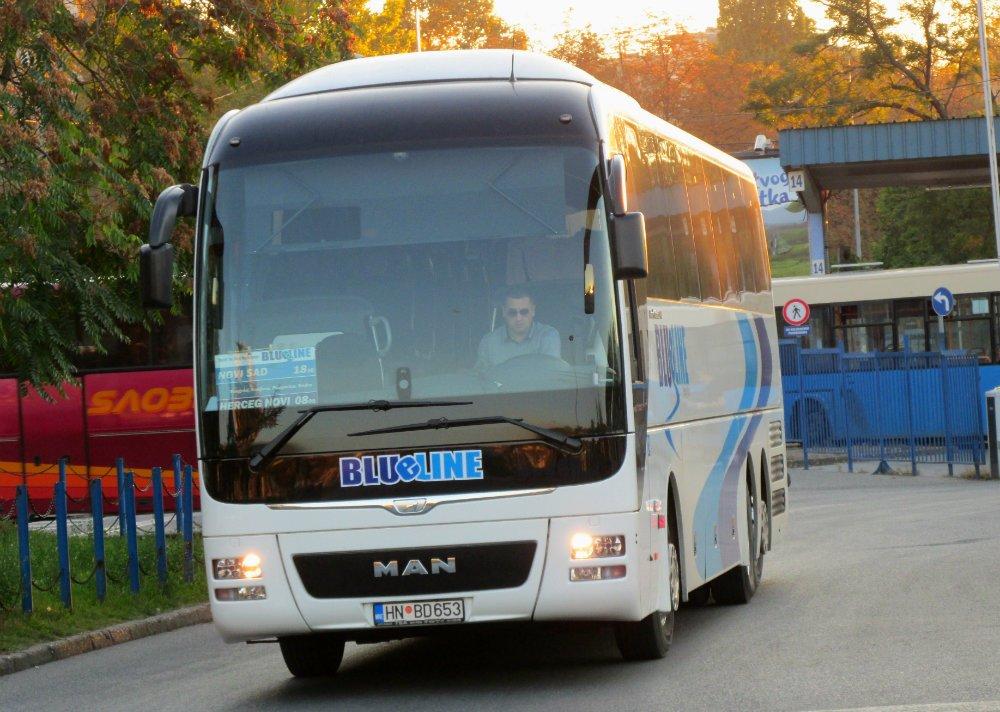 Autobus Blue Line