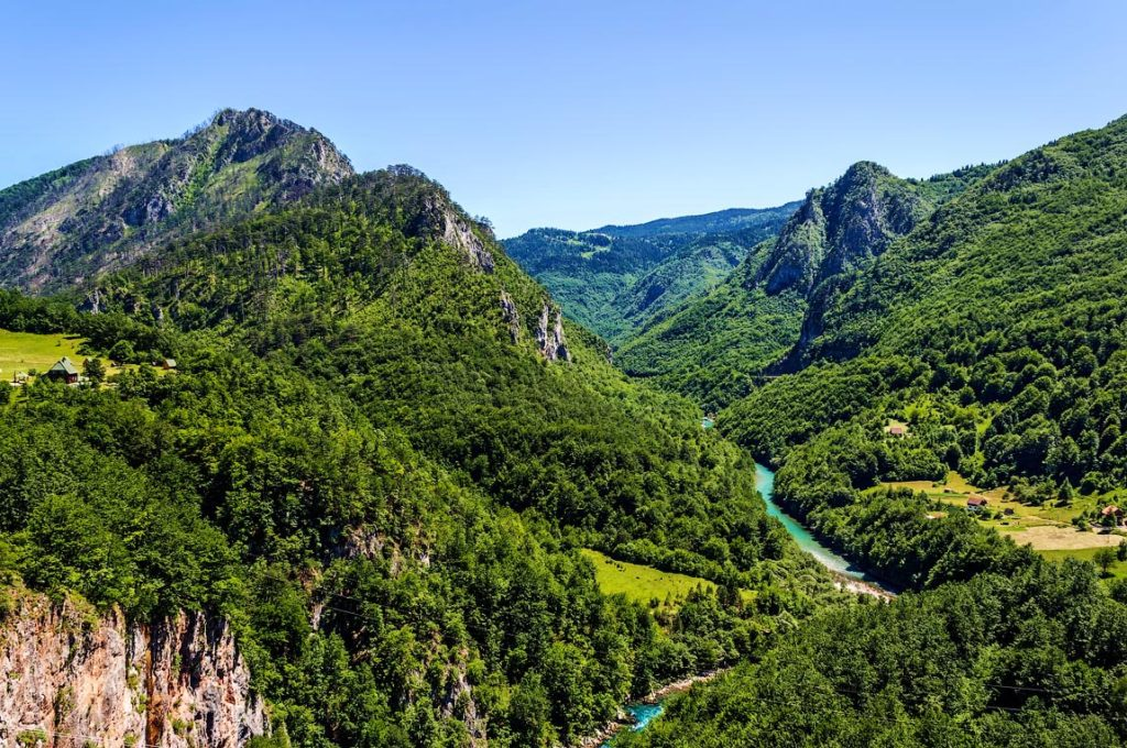 canyons of montenegro