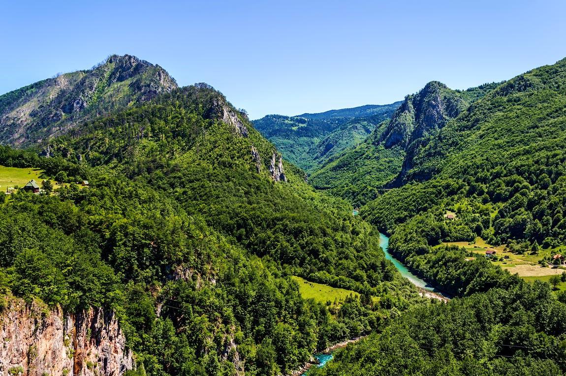 фото каньоны черногория