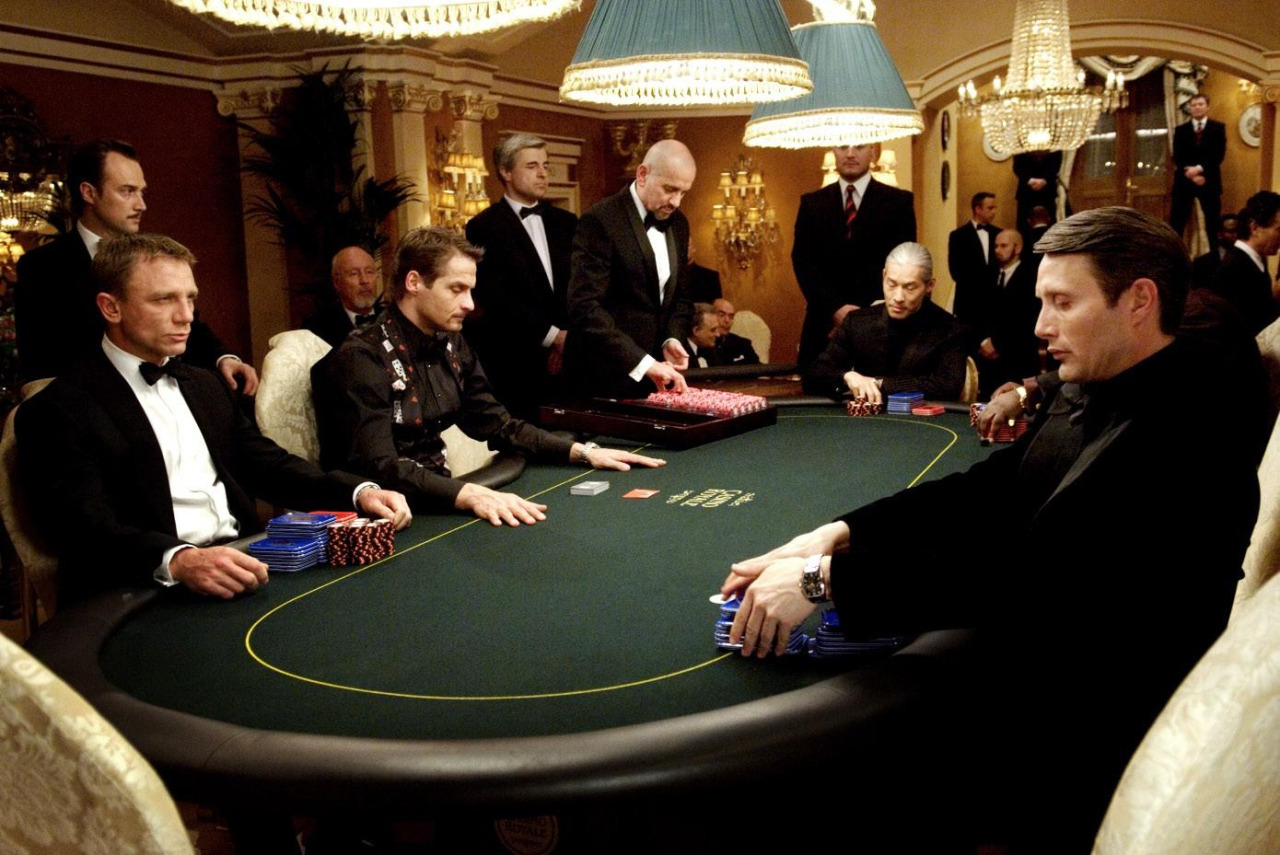 casino royale gambling scene