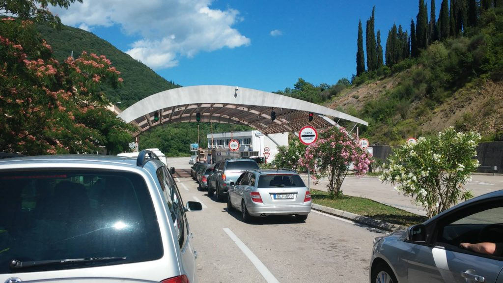 Montenegro Border Crossings