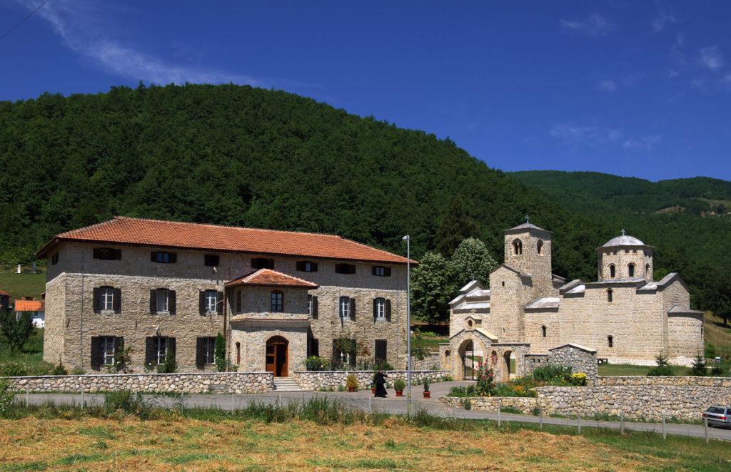 djurdjevi stupovi monastery compex