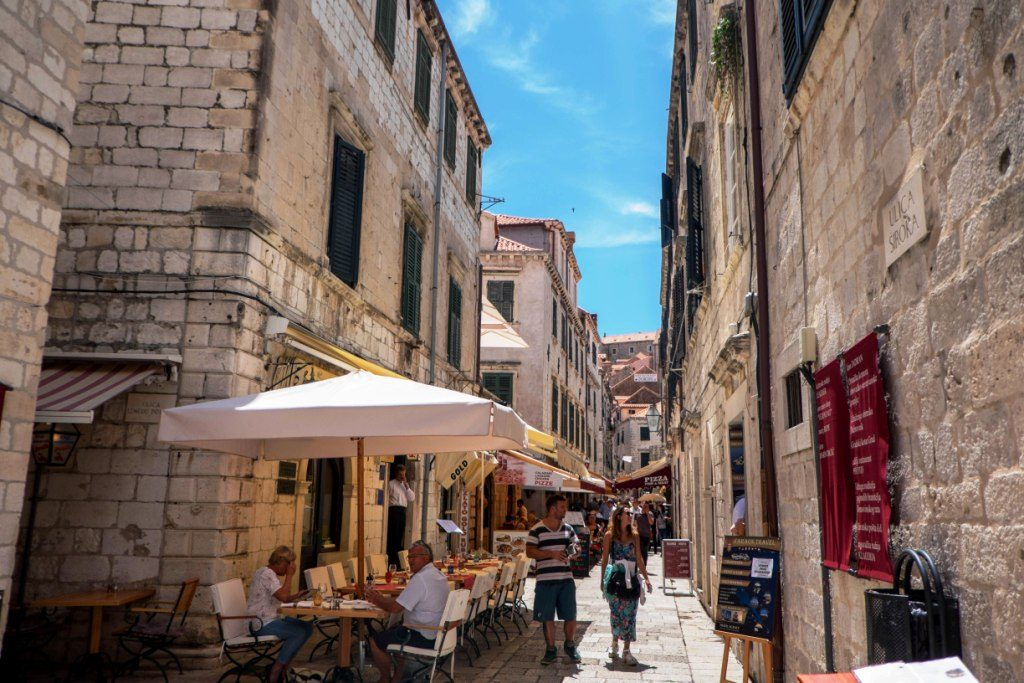Streets of the Old Town of Dubrovnik