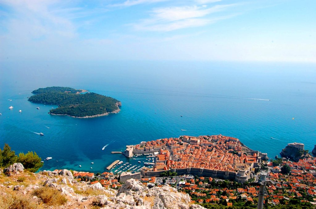Dubrovnik - View from Srdj