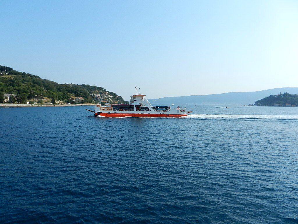 Ferry between Kamenari and Lepetane