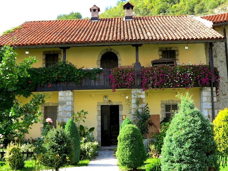 Monastery Moraca Garden Montenegro