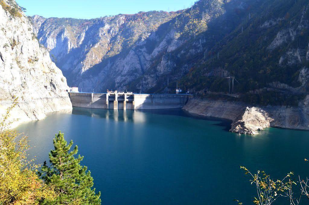 Hydropower Dam Piva