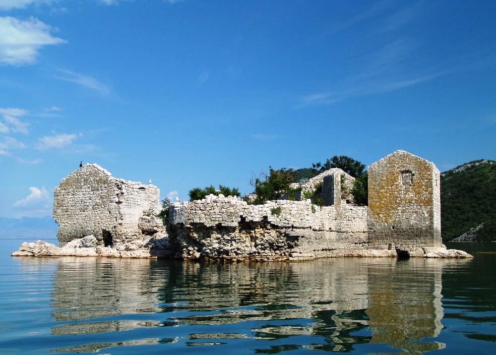 Monastery Island - Skadar Lake