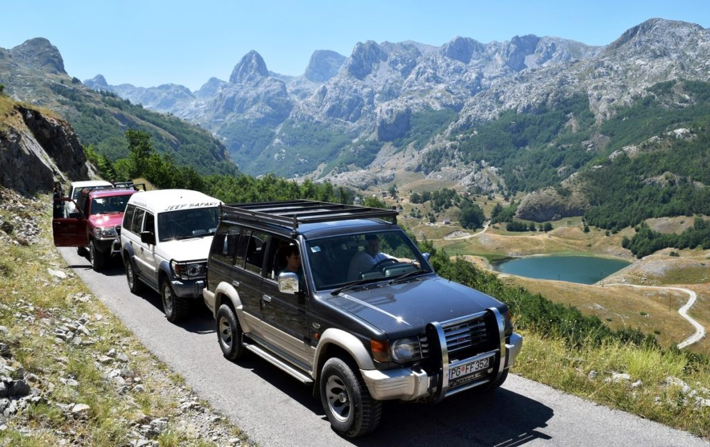 Jeep Safari 4X4 - Montenegro