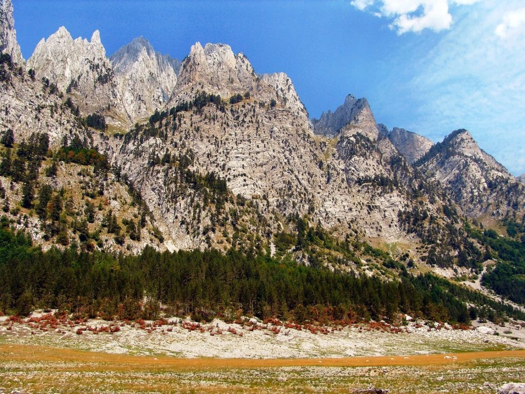 Karanfil three-peak mountain Montenegro