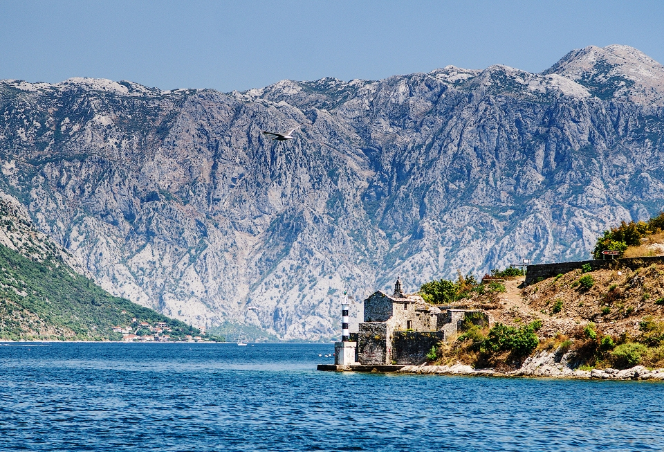 kotor bay mountains