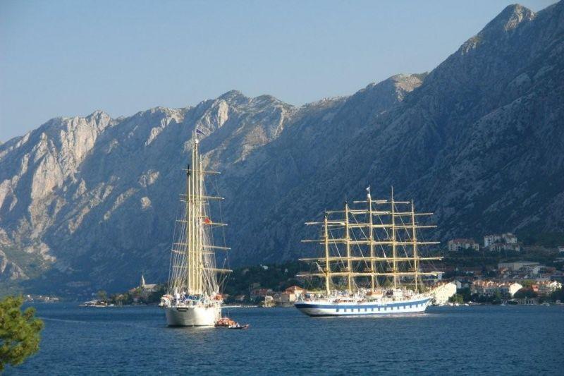 Kotor Bay Montenegro - Sailing Ships