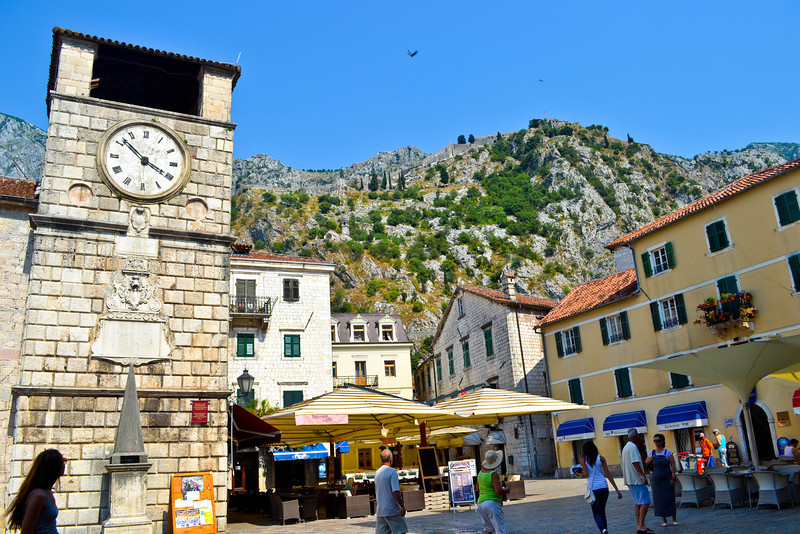 Clock Tower in Kotor