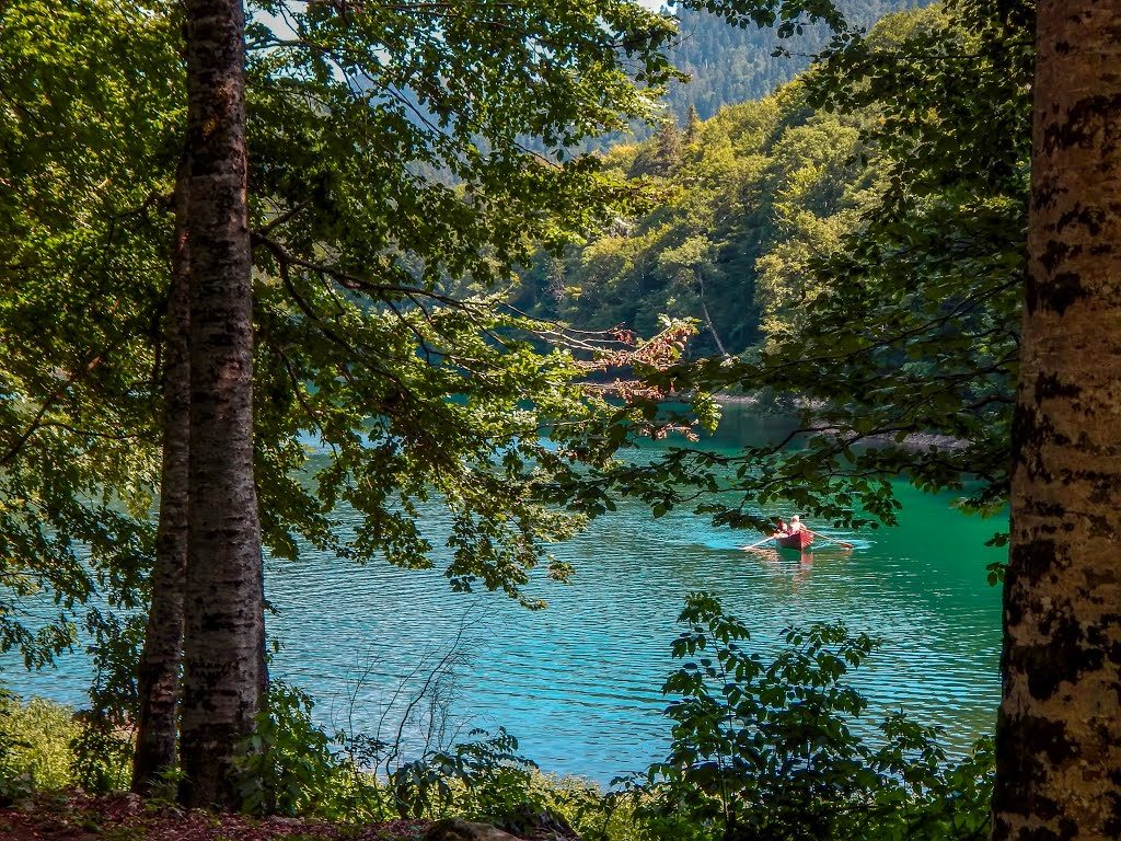 biogradsko lake in montenegro