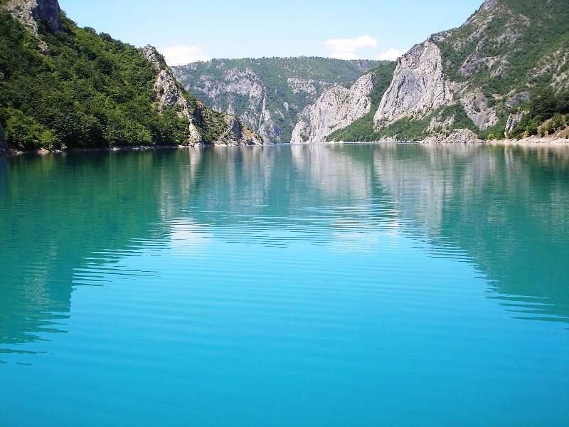 Lake of Piva