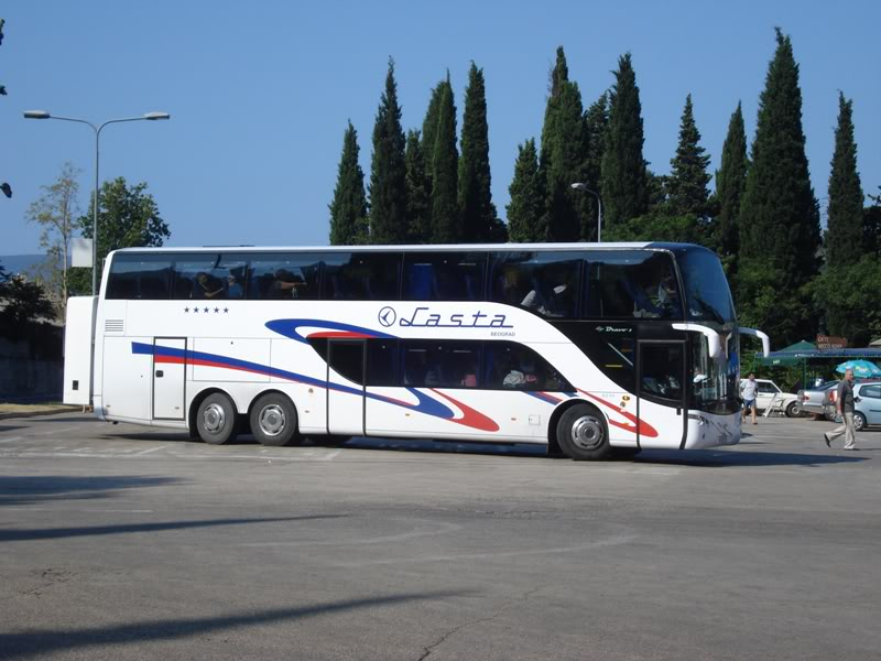 Montenegro by coach