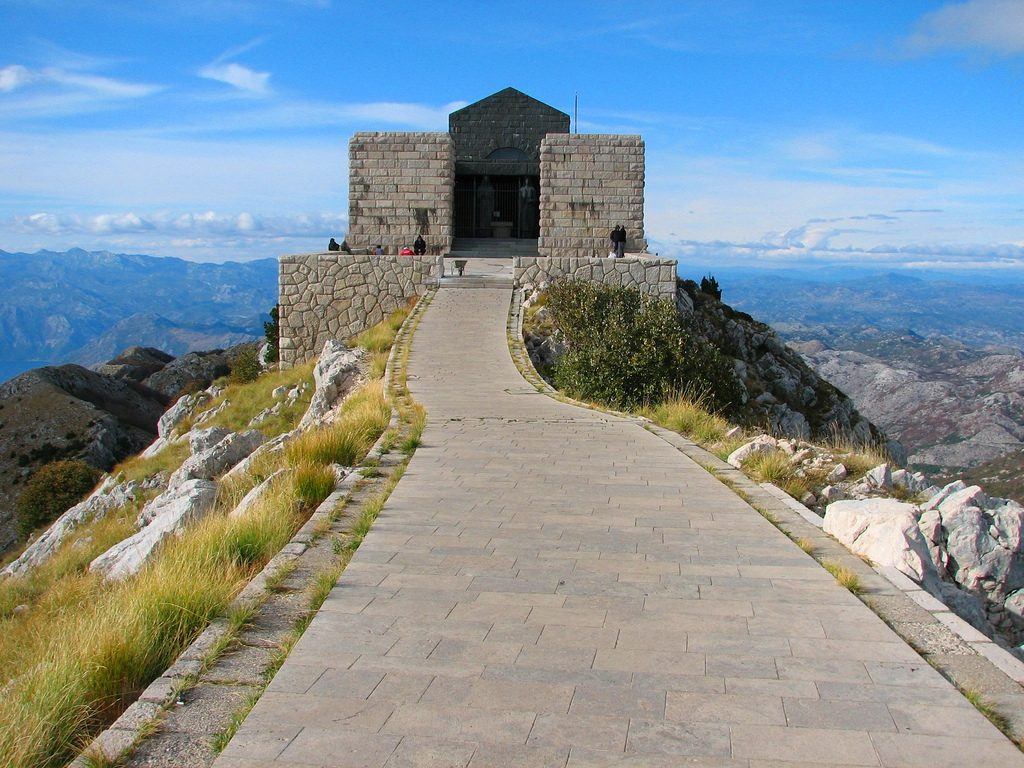 mausoleum on lovcen mountain