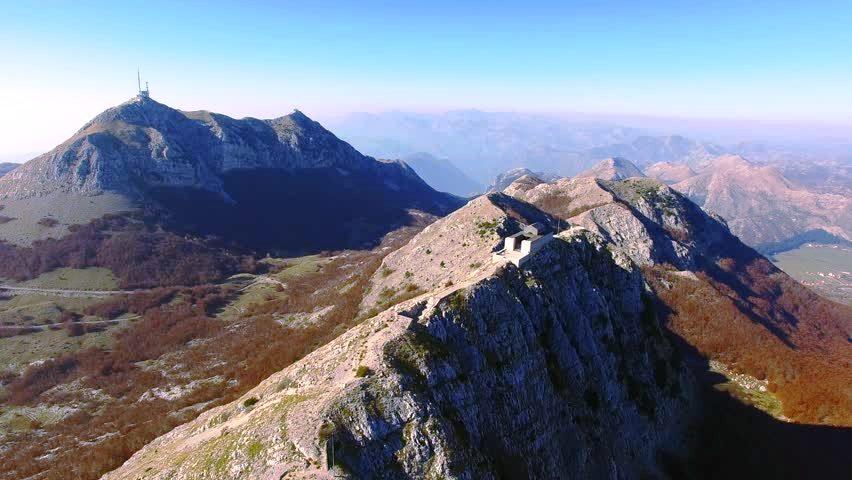 peaks of lovcen