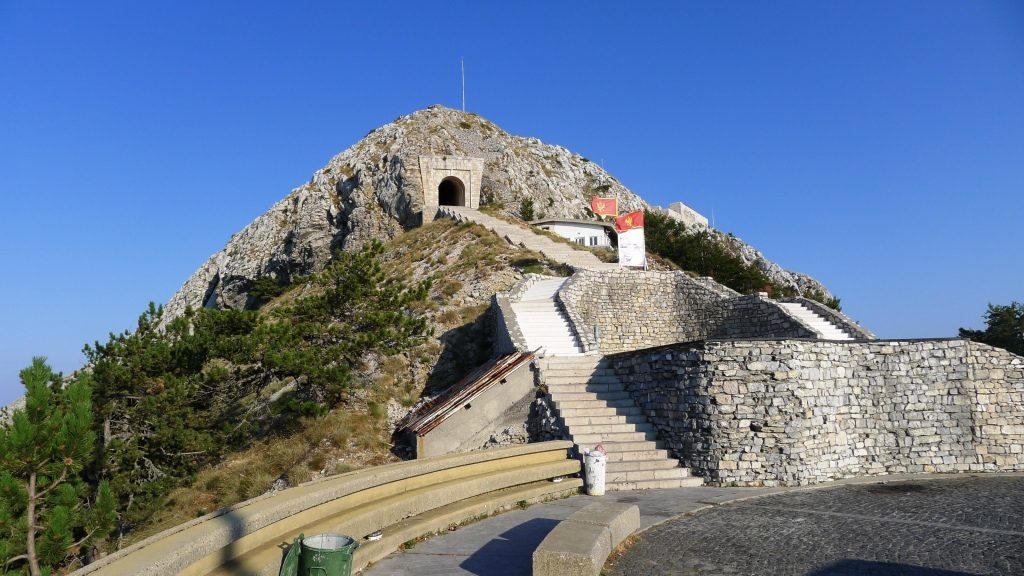 Lovcen stairs to the mausoleum
