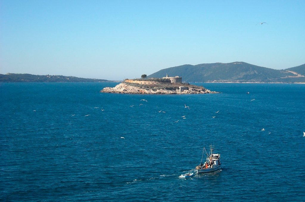 island fortress Mamula