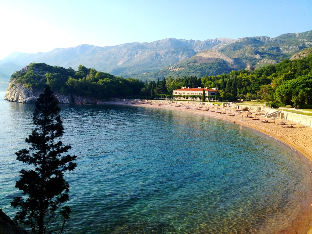 Milocer Beach and Villa Milocer