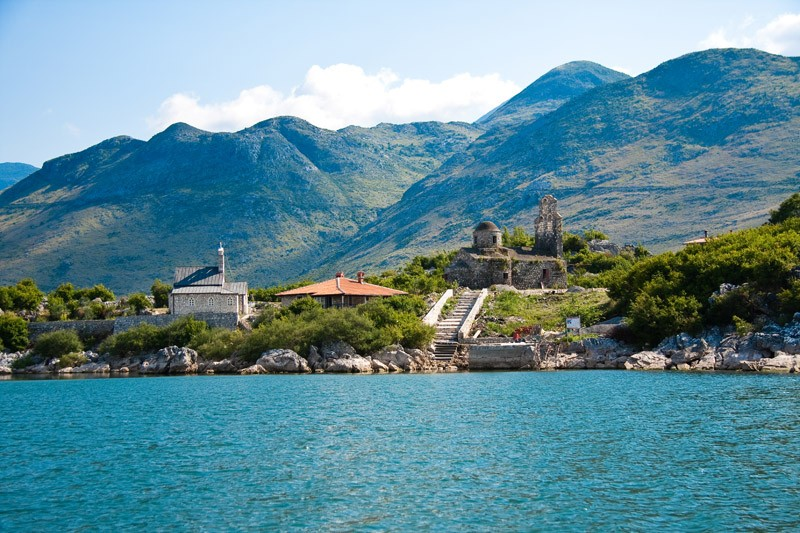 skadar lake monasteries