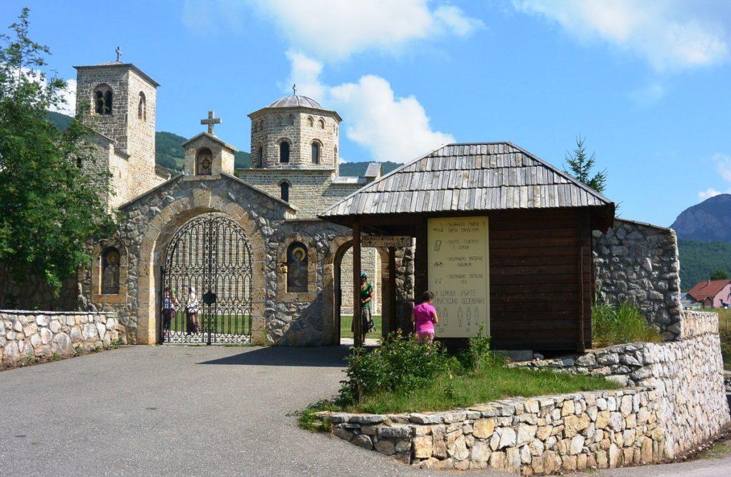 monastery djurdjevi stupovi berane montenegro