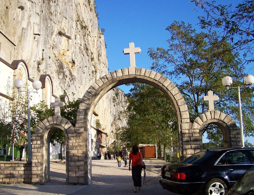 Entrance to Upper Monastery of Ostrog