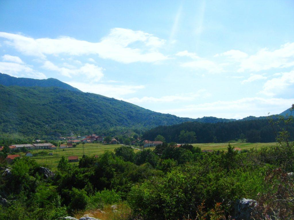 njegusi village montenegro
