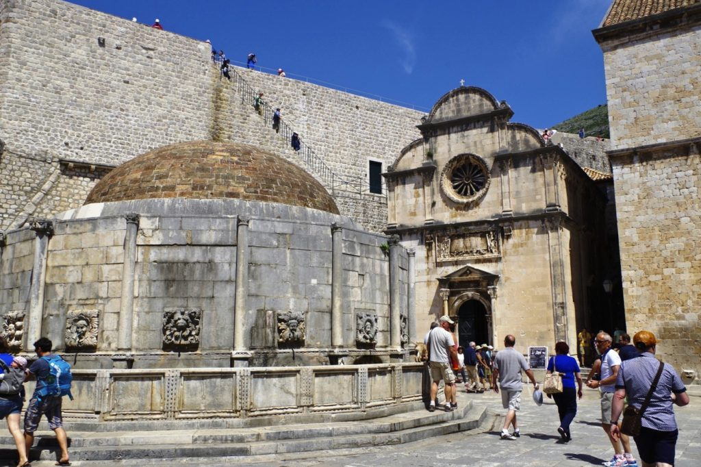 Onofrio Fountain - Old Town Dubrovnik