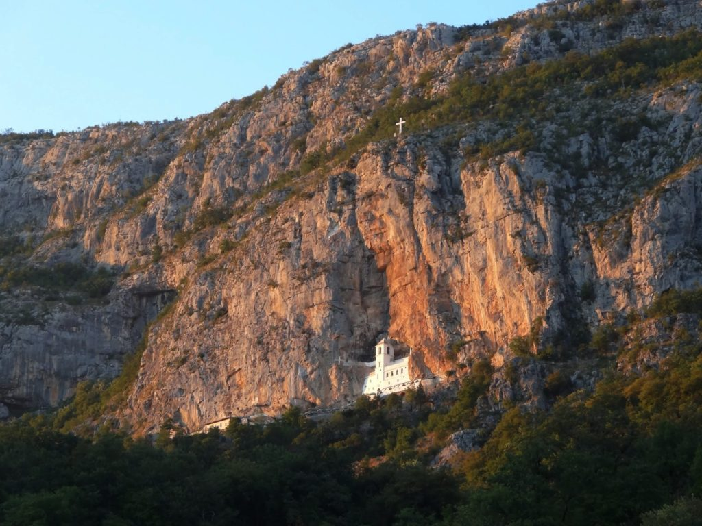 Hill of Ostrog Monastery