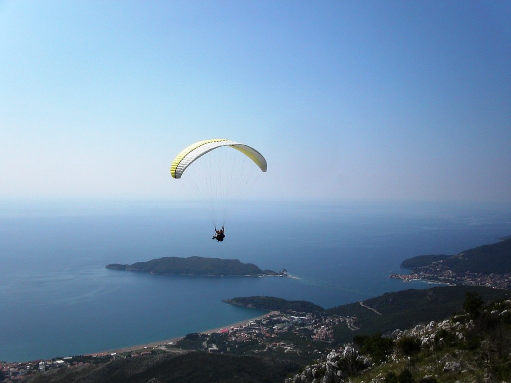 Paragliding in Montenegro