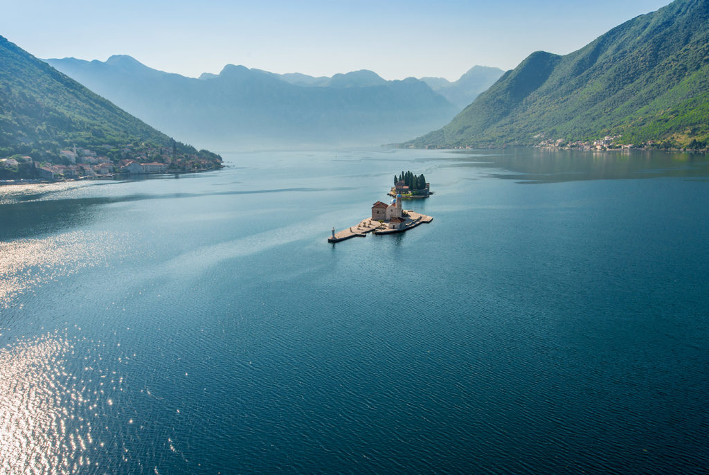 islands near perast