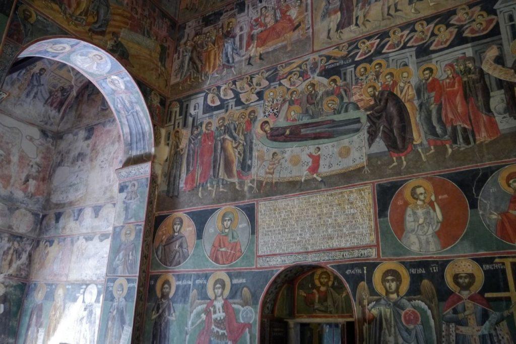 Frescoes in Piva Monastery