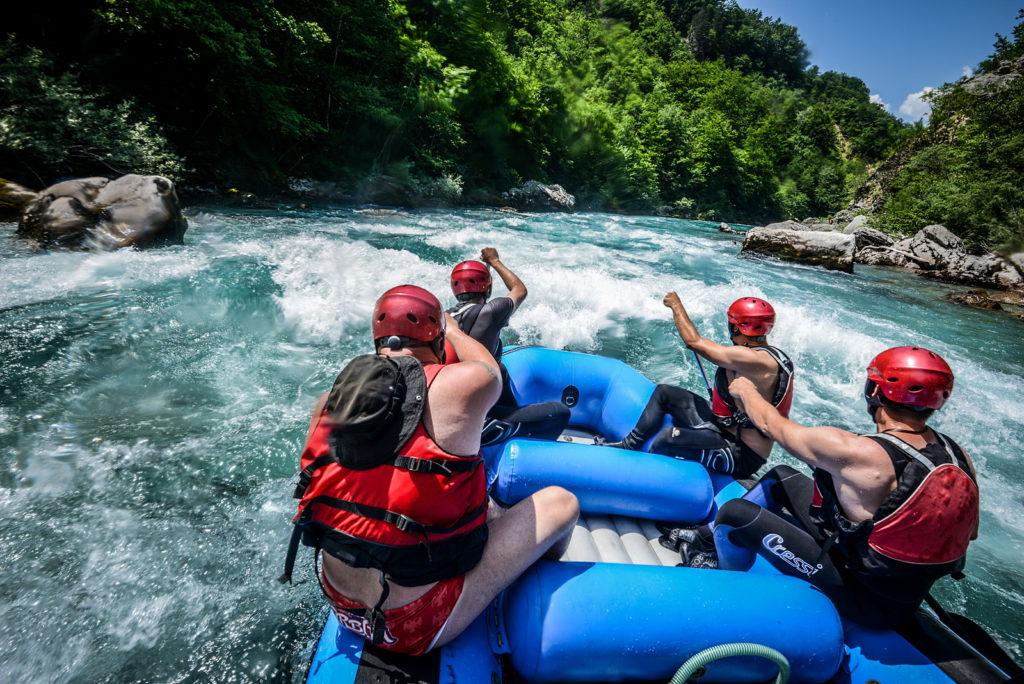 Piva Nature Park - Rafting