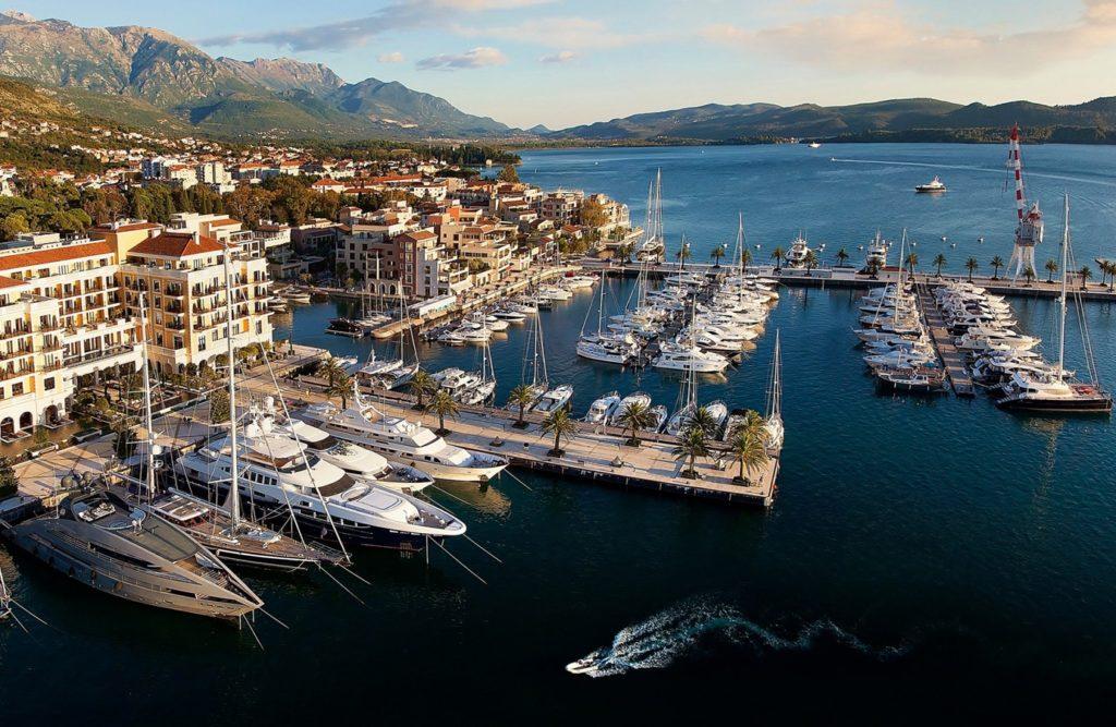 Marina Porto Montenegro in Tivat