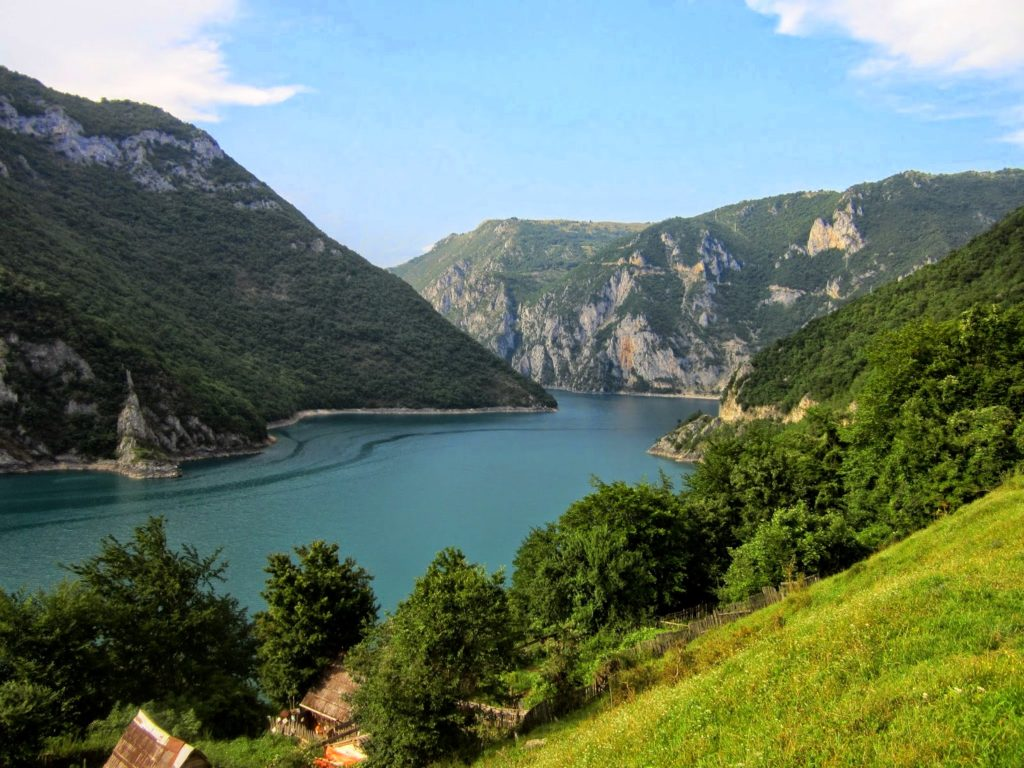 Region of Piva Lake