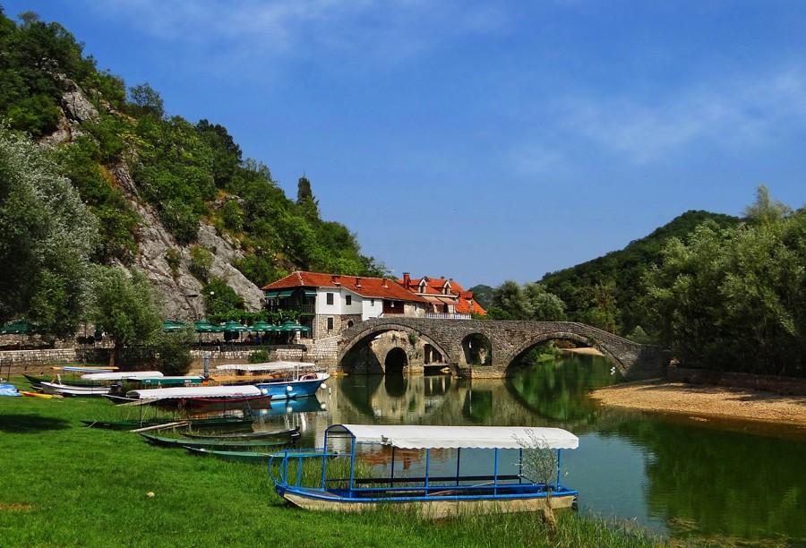 Stone Bridge of Danilo Rijeka Crnojevica