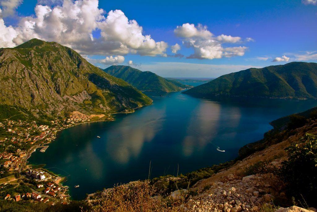 risan bay montenegro