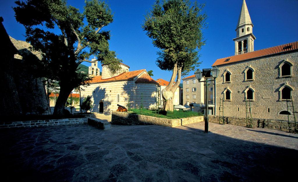 Saint Ivan Church Budva